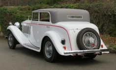 1934 Rolls-Royce Phantom II Continental Gurney Nutting Sports Saloon 109SK