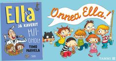 Onnea Ella(t) - iloista nimipäivää! t. Kaverit Comics, Instagram, Cartoons, Comic, Comics And Cartoons, Comic Books, Comic Book, Graphic Novels, Comic Art