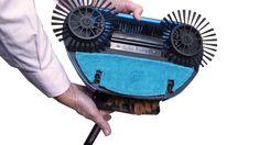 24,99€ -- Barredora con mopa 4 en 1 Marty Eco-Plus Mop funciona por energía cinética, sin cables, sin pilas, sin electricidad... todo se activa cuando la mueves presionando. It Works, Home, Pug