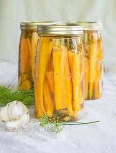 I make these wonderful pickled carrots every summer when carrots and dill are plentiful. The process is super easy and if you need some tips on canning, check out Bernardin Home Canning for instructions. A good friend and neighbor gave this recipe to me years ago. It was meant for cucumbers (which are good too) …