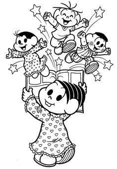 DESENHOS INFANTIS PARA COLORIR: Para Imprimir Decoupage, Snoopy, Clip Art, Embroidery, Drawings, Disney, Artwork, Kids, Fictional Characters