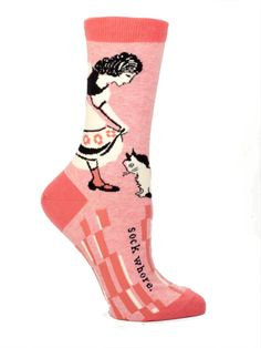 Sock Whore Socks $10.00 -....a portion from the sales of these socks goes to Doctors without Borders.