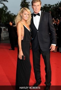 6db43e8bfb Beautiful Hayley Roberts wearing our Rosa Swarovski Maxi dress at the  Cannes Film Festival!
