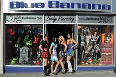 The zombies even took over our Blue Banana store!