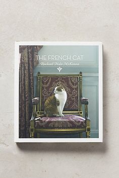 no one's more gravitas than me! The French Cat #anthropologie