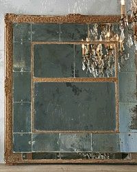 Antique French Louis XVI 19th Century Rocaille Mirror-panelled,1800's,gold, gilt, patina, large, commercial,ballroom