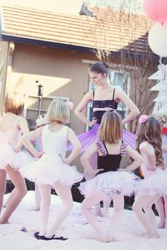 ballet birthday party