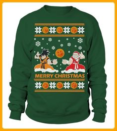 Goku Santa Ugly Christmas Sweater - Film shirts (*Partner-Link)