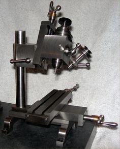 Stevens Precision Milling Machine Small Metal Lathe, Metal Lathe Tools, Metal Mill, Cnc Milling Machine, Metal Workshop, Turning Tools, Homemade Tools, Cool Tools, Diy Tools