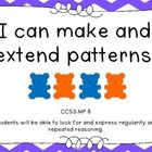 This item is just the posters from my All About Patterns unit.  It includes Common Core aligned objectives, and posters to model different types of...