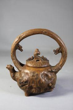 Unusual Chinese Zodiac YiXing Teapot
