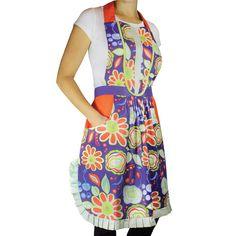 MUkitchen Polperro Cotton V-neck Apron - Overstock™ Shopping - Big Discounts on MUkitchen Kitchen Aprons