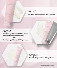 After years of development and research, the new Mary Kay TimeWise Miracle set has been revealed! This approach to skin care Defends, Delays, and Delivers. Miracles CAN happen! Cremas Mary Kay, Mary Kay Malaysia, Timewise Miracle Set, Mk Men, Imagenes Mary Kay, Selling Mary Kay, Mary Kay Party, Mary Kay Ash, Mary Kay Cosmetics