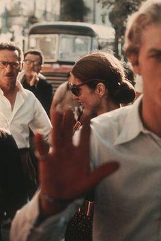 jackie onassis, capri, 1970 • ron galella