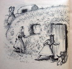 31 Things We Learned From Laura Ingalls Wilder  For those who didn't grow up in America in the Olden Days, the Little House books were rife with fascinating information.    10. A family can live in a house that's built into side of a hill.  It's called a dugout. If an ox steps through your roof, just plug the hole with hay.