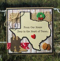 Texas Christmas card idea
