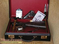 """James Bond's """"luggage"""" (including an AR-7) - 'From Russia with Love'"""