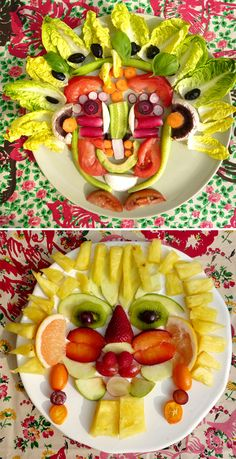 Jewellery For Lady - Giuseppe Arcimboldo, Land Art, Food Art For Kids, Crafts For Kids, Fruits Decoration, Art History Major, Online Art Classes, Classroom Art Projects, Fruit Art