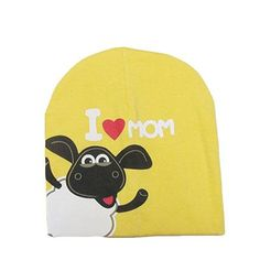Baby Knitted Warm Cotton Beanie Hat For Baby Kids Girl Boy Print Baby Hats