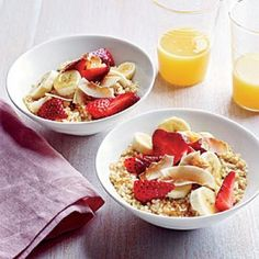 Breakfast Quinoa | CookingLight.com