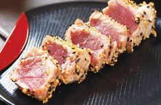 Sesame seared tuna recipe | Japanese recipes | #mmm #healthy