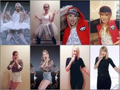 "A Bunch of Taylor Swifts | 33 Halloween Costumes That'll Make You Say ""Why Didn't I Think Of That?"""