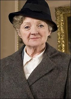 Agatha Christie's Miss Marple.  I love this woman's charm and wit!