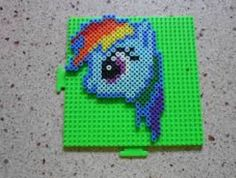 Here is Rainbow Dash from My Little Pony