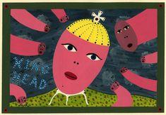 Eine weitere Arbeit des Amerikaners King Orth, neben anderen Arbeiten des Künstler neu auf www.aussenseiterk..., englisch = www.outsider-art-... Art Brut, Outsider Art, The Outsiders, Kids Rugs, Collection, English, Random Stuff, Kunst, Kid Friendly Rugs