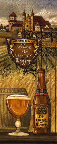 Belgium Beer Print by Charlene Audrey at AllPosters.com