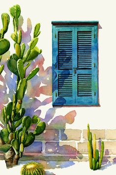 Illustration Watercolor www. Illustration WatercolorSource : www. Fine Art Painting Artists, Artist Painting, Art Painting, Art Drawings, Fine Art Painting, Painting, Watercolor Architecture, Watercolor Landscape Paintings, Painting Art Projects
