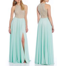 2016 Split Prom Dresses Crystals Beaded Bodice Long Sky Blue Tulle Skirts Prom Gowns Graduation Dresses Homecoming Dresses The Best Prom Dresses Tie Dye Prom Dresses From Gonewithwind, $201.01| Dhgate.Com