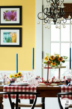 Ideas for decorating the perfect table!