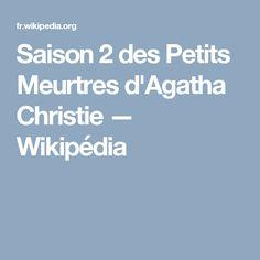 Saison 2 des Petits Meurtres d'Agatha Christie — Wikipédia