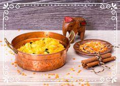 Kitchari Ayurveda, Zucchini, Pudding, Vegetables, Desserts, Food, Cilantro, Carrots, Lemon