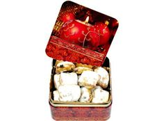 Stollenkonfekt Container, Presents, Food, Corporate Gifts, Simple, Gifts, Eten, Gifs, Meals