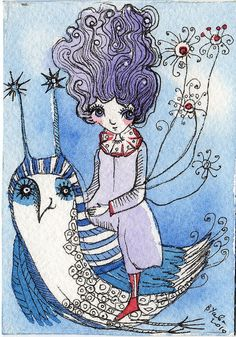 winter fairy by usova