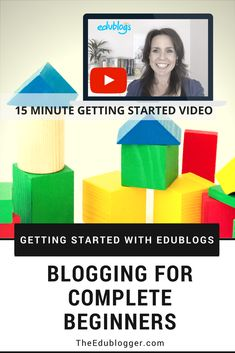 Getting Started With Edublogs   Blogging For Complete Beginners   Edublogs Teachers Schools Classrooms