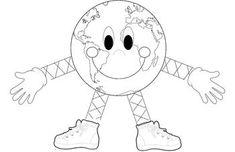FREE Earth Day Craft - Earth Man - Imaginative Teacher - TeachersPayTeachers.com