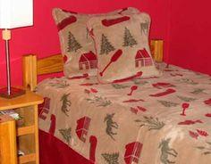 Moose Camp Bed Set