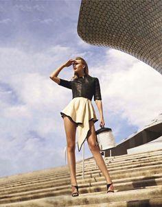 fashionfaves:  Frida Gustavsson by Carter Smith for Elle France (Edit: male model removed)