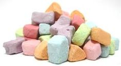 These Lucky Charms marshmallows can easily be added to a bowl of cereal or a steaming mug of hot chocolate. Their bright colors and small size make it fun to add to any special baked treat, whether mixed in or added as a topping.