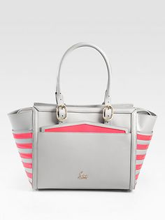 Christian Louboutin - Farida Multi-Media Colorblock Top Handle Bag - Saks.com $1900