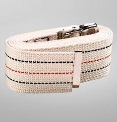 The AT Surgical Gait Belt / Transfer Belt is designed to be a heavy duty weight bearing belt and stays securely in place when fastened. It measures 48″ long x 2″ wide. A gait belt is a device used to transfer people from one position to another, from one thing to another or while ambulating people that have problems with balance. When to Use: Transferring residents who are partially dependent, have some weight-bearing capacity, and are cooperative.
