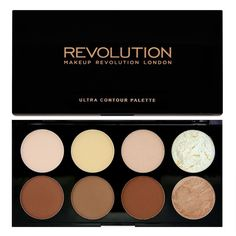 Makeup Revolution ULTRA CONTOUR POWDER PALETTE  Sculpting Highlight Contouring