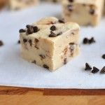Chocolate Chip Cookie Dough Fudge.