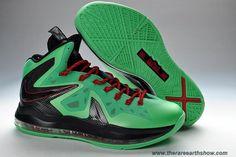 579827-287 Turquoise Volt Nike LeBron X PS Elite Outlet