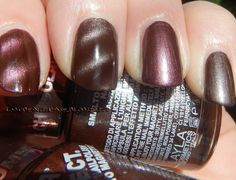 Battle Of Planets: Mercury (Bronze/Brown) - Layla Magneffect nn. 21 Autumn Brown & 23 Chocolate Mousse