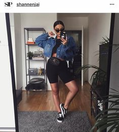 Bike Shorts Outfit Tips Source by womanfashiontrend outfits spring Chill Outfits, Mode Outfits, Short Outfits, Trendy Outfits, Fashion Outfits, Classy Outfits, Womens Fashion, Fashion Trends, Girly Outfits