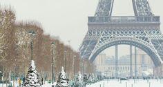 Paris winter hiver ❄ snow ❄ neige ❄